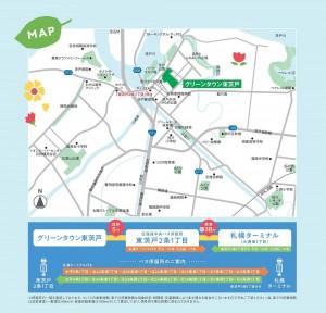 東茨戸マップ