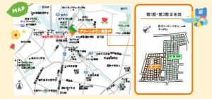 東茨戸地図
